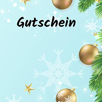 Gutschein Weihnachten KUGELN