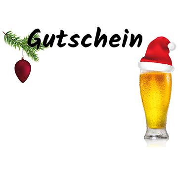 Gutschein Weihnachten MÜTZE