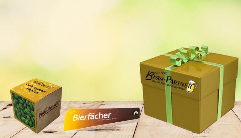 Weitere bierige Geschenke